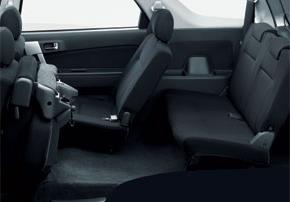 daihatsu terios interior seats