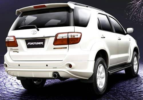 Fortuner Back Photo