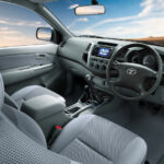 2011 Toyota Hilux Turbo Interior Seats And Steering Picture