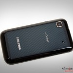 Samsung Galaxy S Black Back View Picture