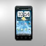 HTC Evo 3d Cdma Front Picture