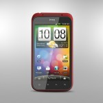 HTC Incredible S Front Side