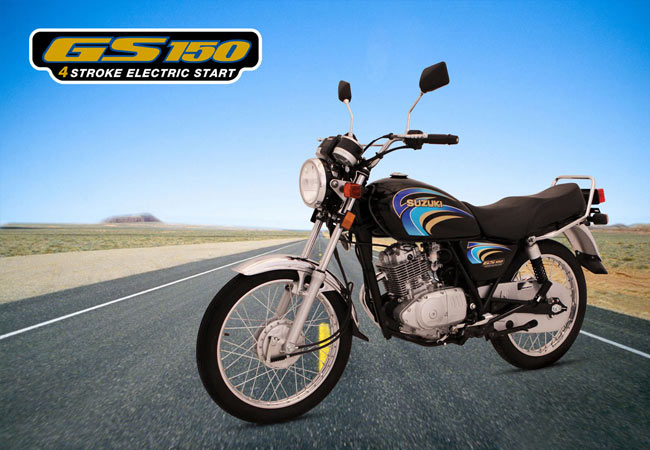 Suzuki GS 150 Pictures, Price, Features in Pakistan