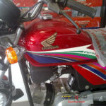 Honda Cd 100 in Red Color