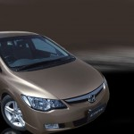 Honda Civic VTI Oriel 2011 Beige Color