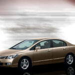 Honda Civic VTI Oriel 2011 Side View