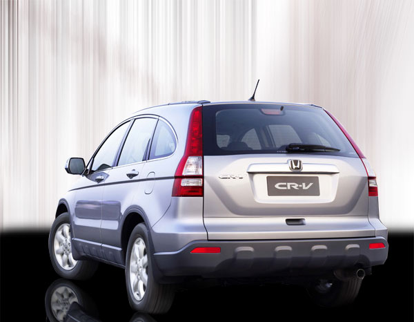 Delightful Honda CRV 2011 Back Side Photo