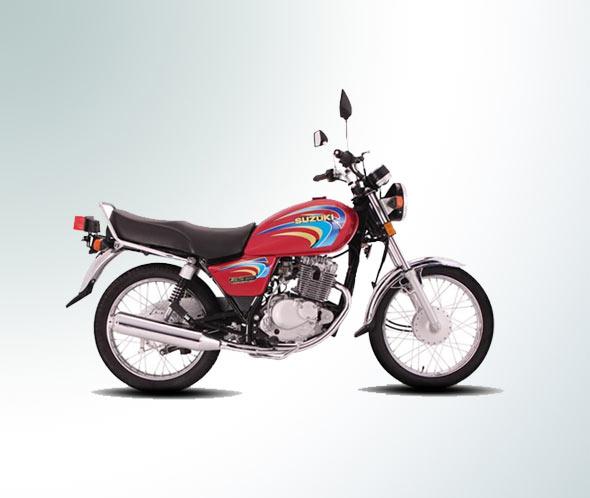 Making Suzuki GS-150 look like GN-125 - suzuki gs150 2011 red color photo