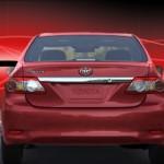 Toyota Corolla XLi Back Exterior
