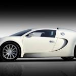 Bugatti Veyron 2013 Front in White