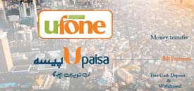 UPaisa by Ufone – Send Money Anywhere in Pakistan through UPaisa